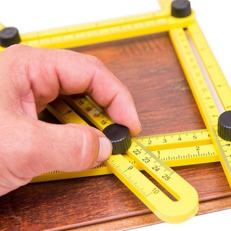 TGR Angle-izer Four-Sided Ruler Measuring Instrument Slide Template Tools - intl