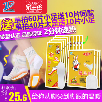 Harga TO-PLAN heating warm feet stickers Insole