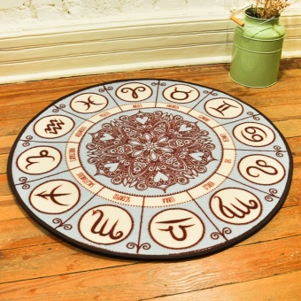 Twelve Chart Carpet Fuzz Easy To Clean Living Room Bedroom Childrens Mats Coffee Table Pad