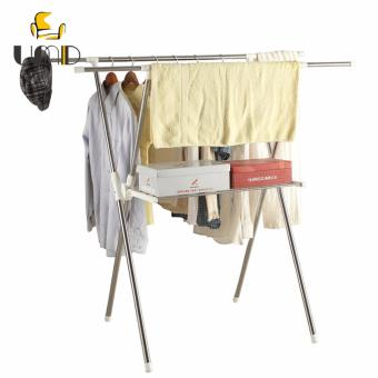 UMD Heavy Duty Stainless Foldable Steel Clothes Drying Rack JS-117