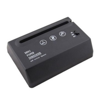 USB Mini Paper Shredder With Letter Opener For Office Home Portable Shredder - intl - 5