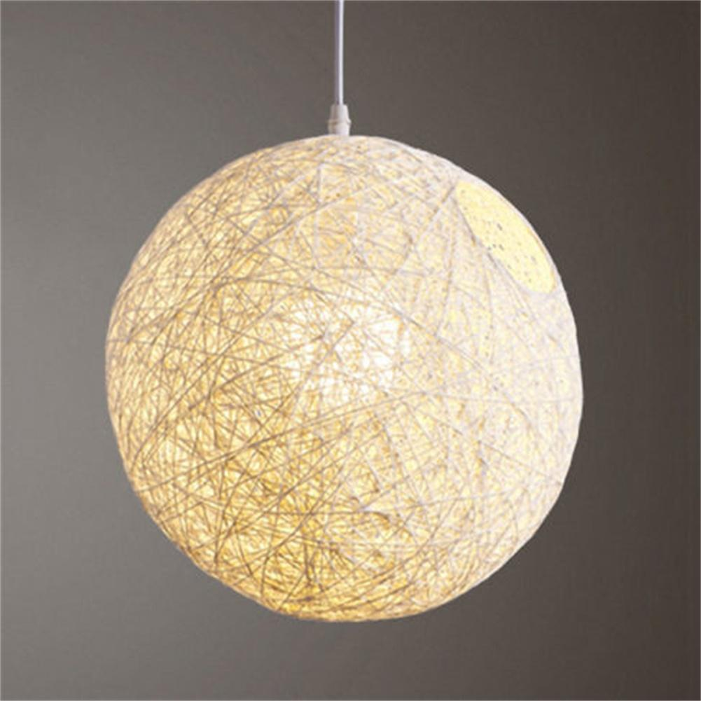 Veecome round concise hand woven rattan vine ball pendant lampshade veecome round concise hand woven rattan vine ball pendant lampshade light lamp shades light accessories15cm aloadofball Image collections