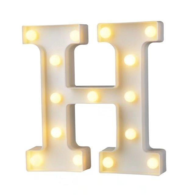 Vintage Large Alphabet Symbol LED Light Marquee Letter Lights Lamp ...
