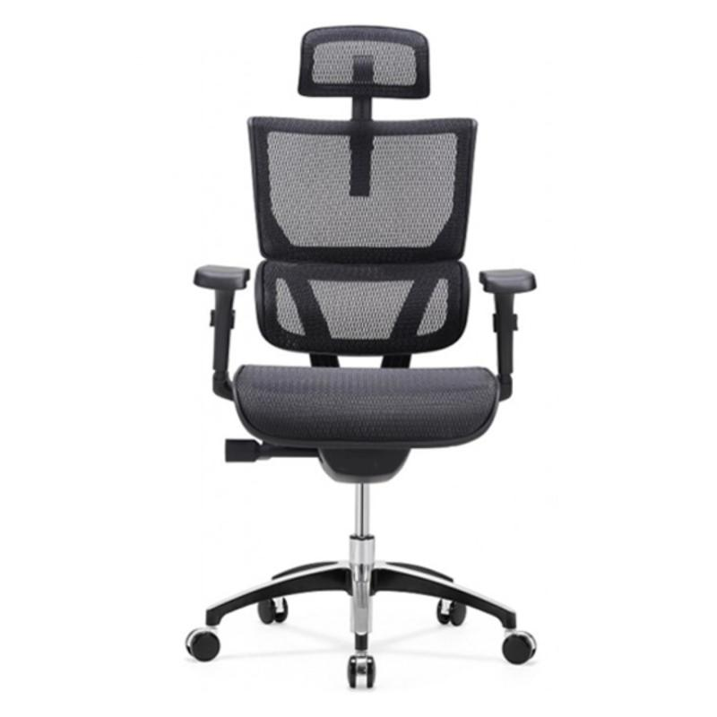 Vision Ergonomic Office Chair (Black)(Installation Option Available) Singapore