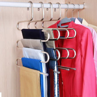 Wardrobe Pants pants hanging pants rack stainless steel rack pants