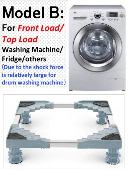 Washing machine and refrigerator base - 2