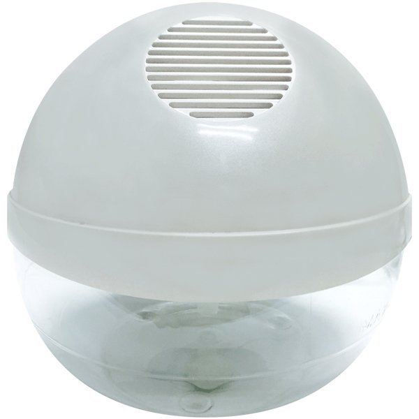 Water Air Purifier with Ionizer and LED - White Singapore