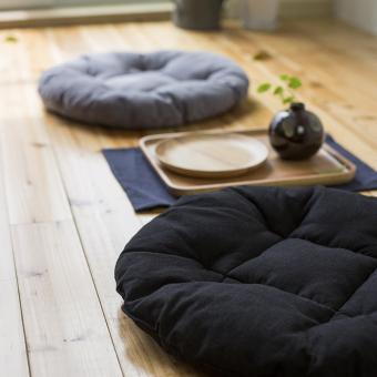 Well word round tatami light meal homemade futon pad Cushion