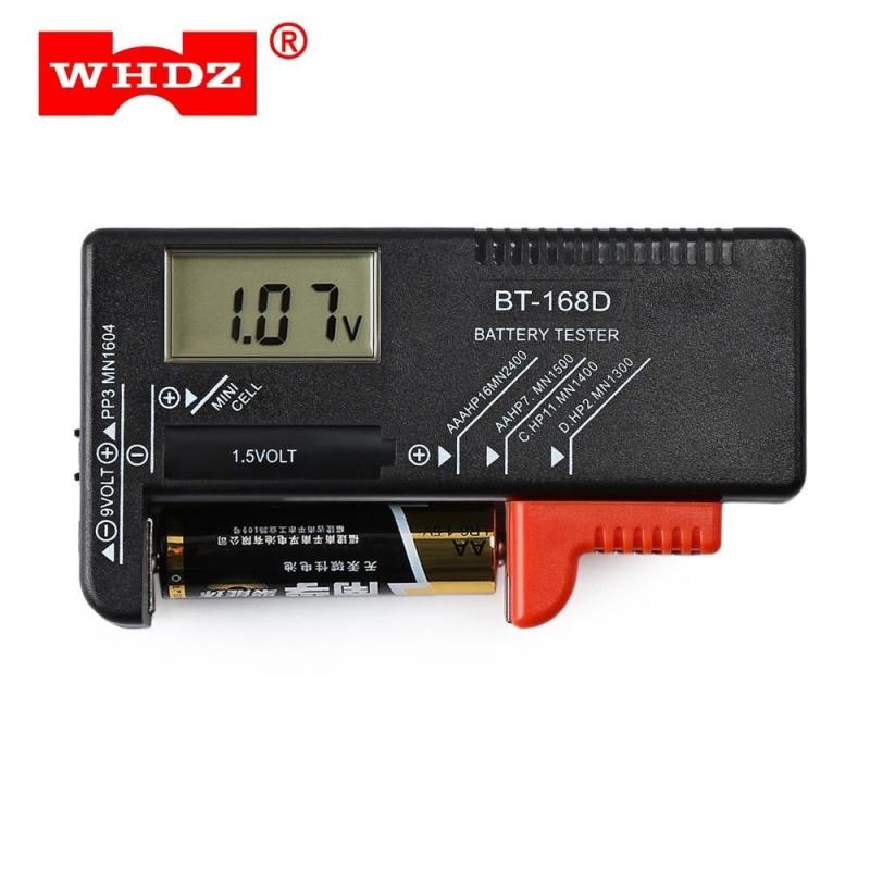 WHDZ BT - 168D Universal Battery Tester (Black) - intl
