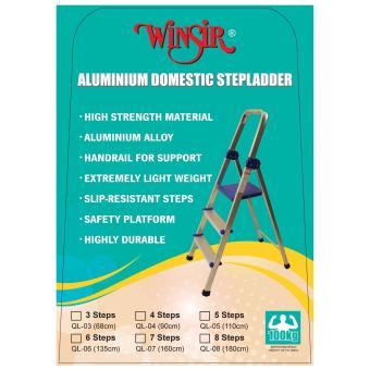 Winsir Aluminium Household 6 Steps Ladder - 2