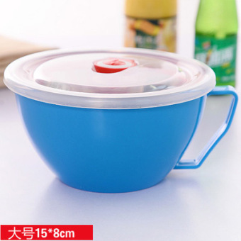 With lid large bowl instant noodle bowl
