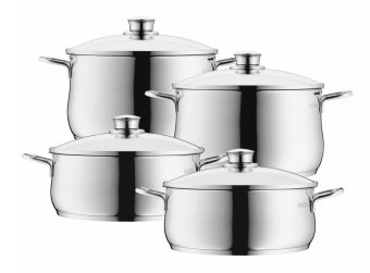 WMF Diadem Plus 4pc Cookware Set