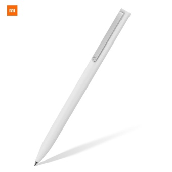 Harga Xiaomi Mijia Gel Pen Rollerball Pen Signing Pen 0.5mm Smooth Writing Point 9.5mm Penholder - intl