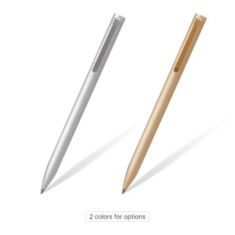 Harga Xiaomi Mijia Sign Pen Roller Pen Signing Pen 0.5mm Smooth Writing Point 9.5mm Metal Penholder - intl