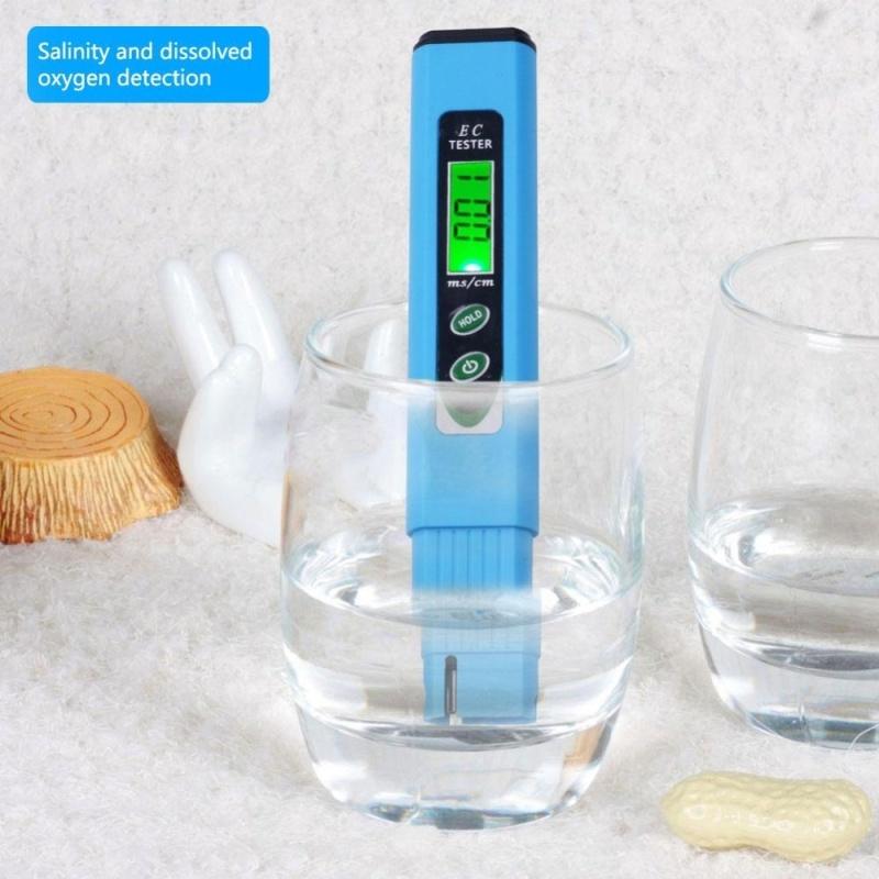 yieryi High quality Digital EC meter Tester pen Conductivity Water EC-963 TDS Tester Quality Measurement Tool - intl