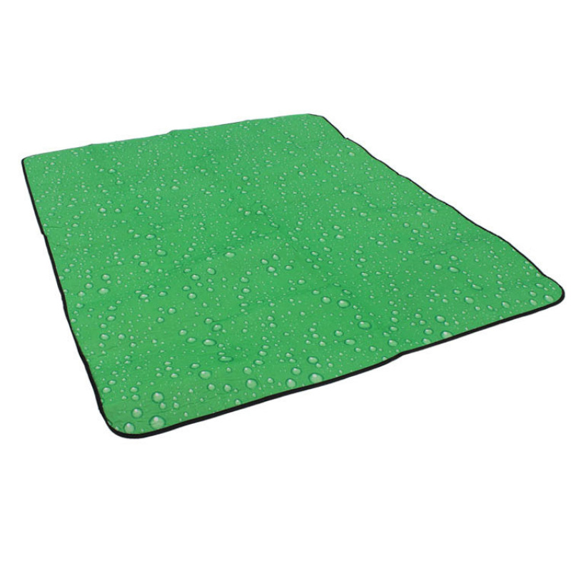 Yika 180 X 150cm Outdoor Water pattern Three layers Beach mat Moisture-proof pad Picnic mat Tent (Green)