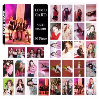 Youpop KPOP BLACKPINK As If It's Your Last Album LOMO Cards K-POPNew Fashion Self Made Paper Photo Card HD Photocard LK498 - intl