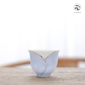 Harga Yuan is Celadon ceramic eggshell pure single cup
