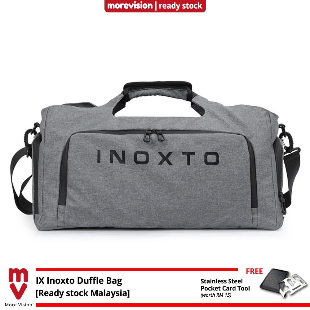 IX INOXTO Travel Duffle Bag Gym Beg Waterproof Messenger Bag Large Casual Fashion Outfit for Men and Women -MI5791
