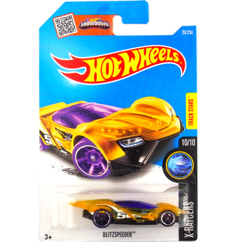 2016 New style Hot Wheels car models hot little sports car blitzspeeder 20