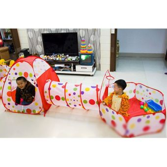 3In1 Children Baby Kids Play Tent Tunnel Play House Indoor/OutdoorToys - intl