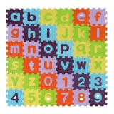 Alphabets and Numbers Puzzle Mat - Lower Case, wit
