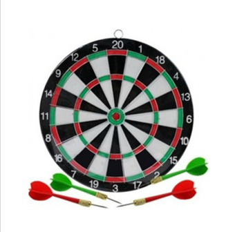 Amango Dart Board Game Set with 4 Darts (EXPORT)