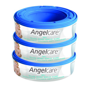 Angelcare Nappy Disposal System Starter Pack - 2