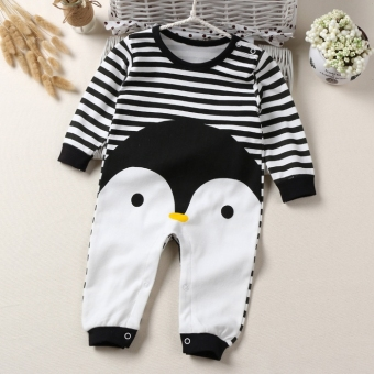 Baby coveralls Spring and Autumn cotton female baby long-sleevedpajamas men climbing clothes newborn children clothes 0-3-6-12month