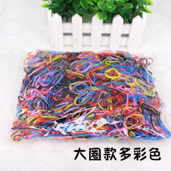 Baby do not hurt the hair high elastic rubber band A of Rubber Band