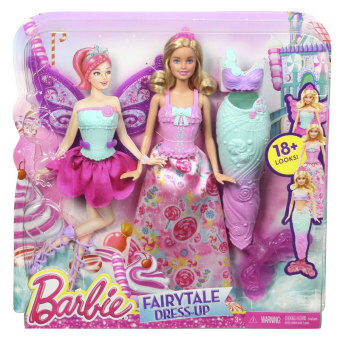 Barbie Doll Outfit Changing Toy Set