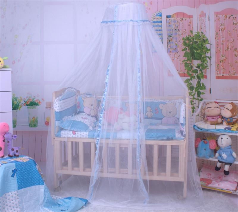 Beautymaker Baby Infant Mosquito Net Toddler Bed Crib Canopy Netting White Babe Dome Blue - intl & Beautymaker Baby Infant Mosquito Net Toddler Bed Crib Canopy ...