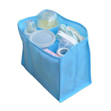 Bluelans(R) Mother Bag Large Travel Nappy Bag For Storage Baby Diaper Nappies Blue Size M - 2