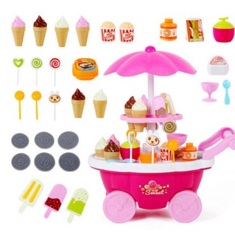 Harga Children's girl's boy's ice cream toys