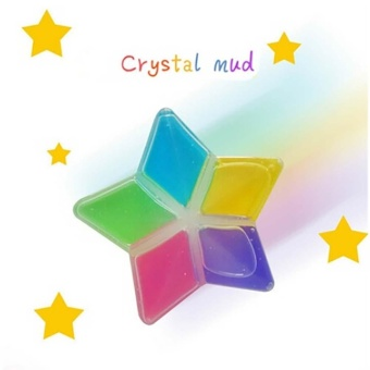 Harga Clay Slime DIY Crystal Mud Play Transparent Magic Plasticine KidToys - intl
