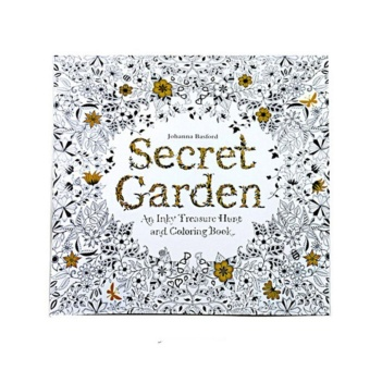 Coloring Painting Book Secret Garden Kid Adult Anti Stress