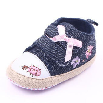 Cowboy cloth Spring and Autumn New style double toddler shoes Baby Shoes