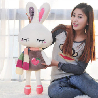 Harga Cute large doll little bunny pillow doll