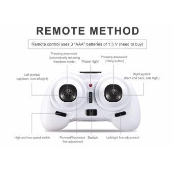 Eachine H8 Mini Headless Mode 2.4G 4CH 6 Axis RC Quadcopter RTF[White] - 3