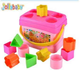 ENLIGHTEN baby geometric pairing educational early childhood building blocks box