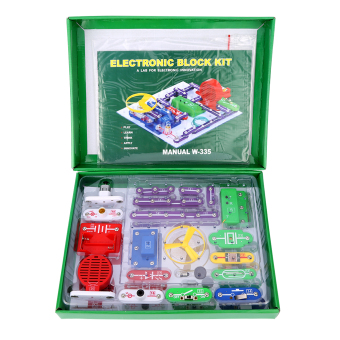 Excelvan W-335 Snap circuits Electronics Discovery Kit ScienceEducational Toy