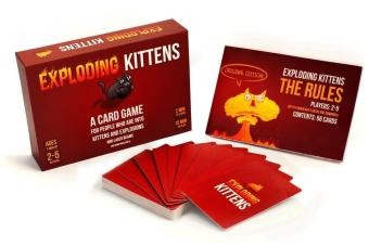 Exploding Kittens A Card Game - intl