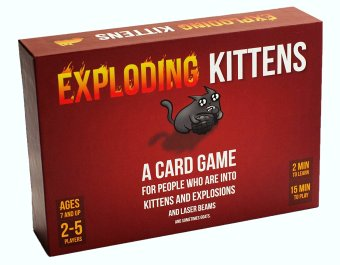 Exploding Kittens Card Game -