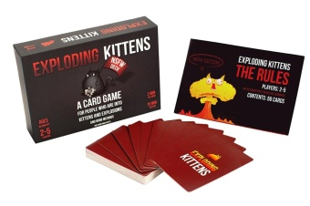 Exploding Kittens: NSFW Edition (Explicit Content - ADULTS ONLY!) -intl