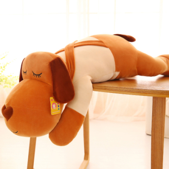 Female dog to sleep soft cute long plush toys