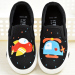 Flat young student's cartoon hand-painted shoes children's canvas shoes
