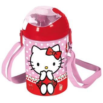 GENUINE HELLO KITTY POP UP CANTEEN BOTTLE