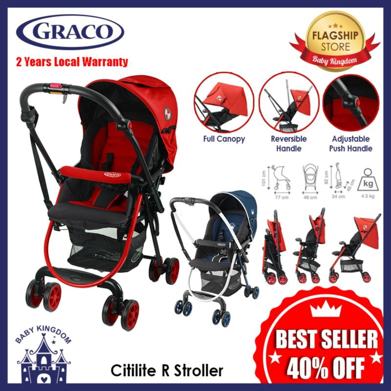 Graco CitiLite R Stroller (Navy Blue) - Local Warranty Singapore