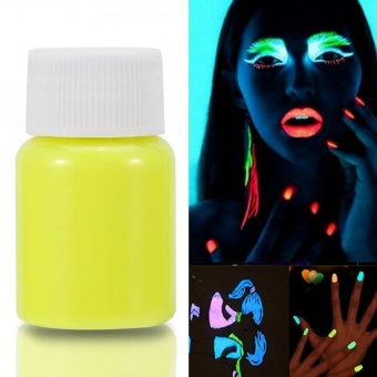 Halloween Fluorescent Luminous Glow-in-the-Dark Body Face Paint (#1) - intl