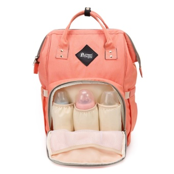 Harga High Capacity Multi-function Diaper Bag Backpack Mommy Bag - intl